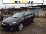2013 Opel Astra 1.4 AT (140 л.с.)  автобазар
