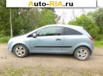 2007 Opel Corsa 1.2 AT (80 л.с.)  автобазар